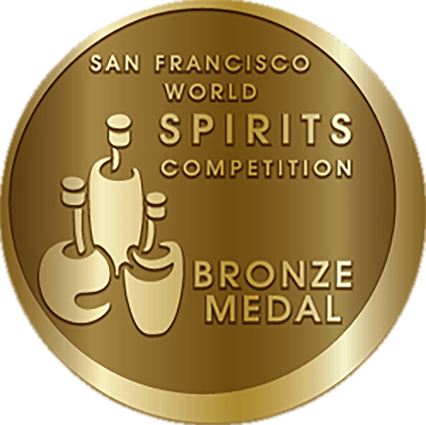 WINNER BRONZE MEDAL SAN FRANCISCO WORLD SPIRITS
